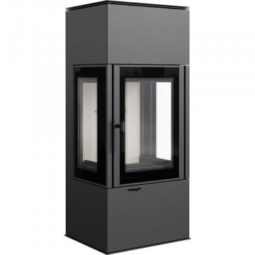 Отдельностоящая печь-камин Kratki KOZA THOR VIEW три стекла