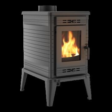 Отдельностоящая печь-камин K10 Ø 150